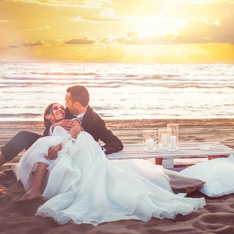 Nabilah beach wedding naples
